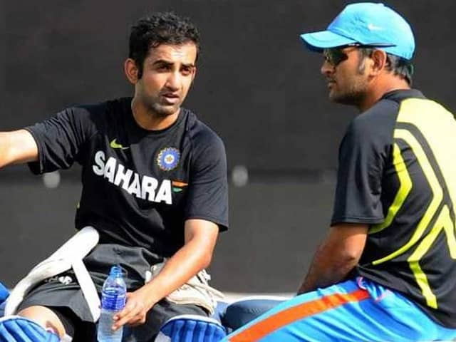 Gautam Gambhir Speaks On MS Dhonis Future, Says Its About Country, Not Cricketer