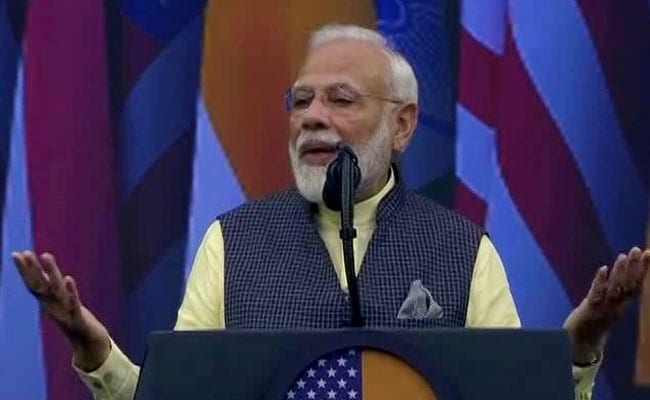 """Where Were 9/11, 26/11 Plotters Found?"": PM Slams Pak, Trump In Audience"