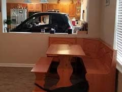 Worried Car Would Blow Away In Hurricane Dorian, He Put It In His Kitchen