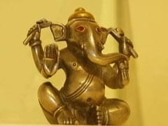 2,000-Year-Old Ganpati Idol A Crowd Puller At Mumbai Exhibition