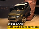 Video : 2020 Land Rover Defender First Look