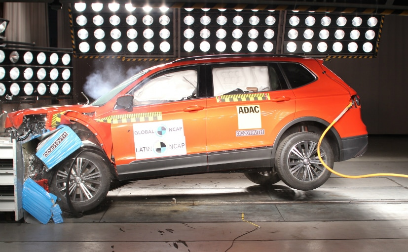 The Tiguan scored 5 stars in Euro NCAP crash tests as well