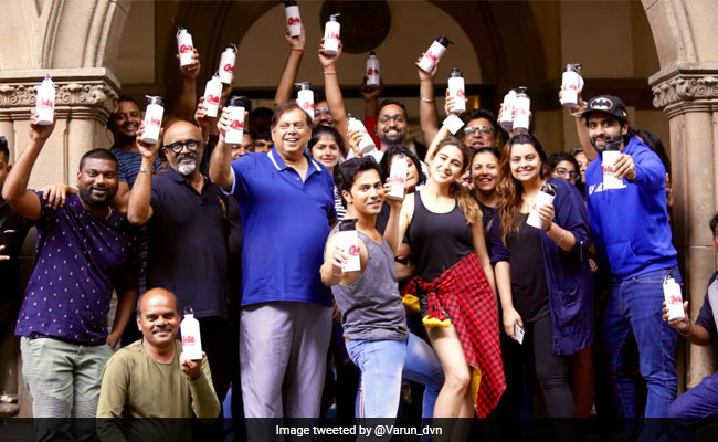 'Superb Gesture' Tweets PM Modi After Coolie No 1 Bans Plastic Bottles On Set