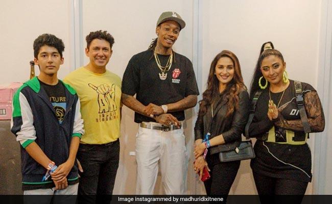 Madhuri Dixit And Isha Ambani Were At Wiz Khalifa's Mumbai Concert. See Pics