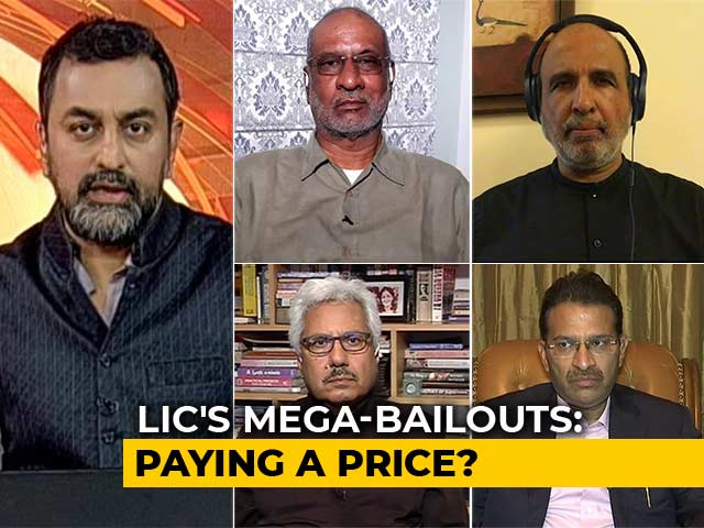 Video : LIC Bailouts: Raiding Family Silver?