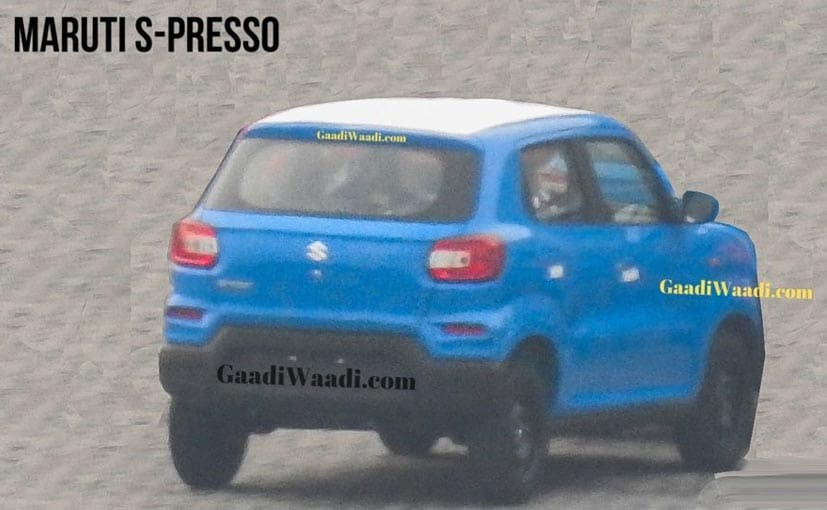 The  Maruti Suzuki S-Presso will be launched on September 30.