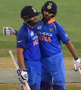 Watch: Dhawan Introduces Rohit, Jadeja As 'Loving And Caring Fathers'