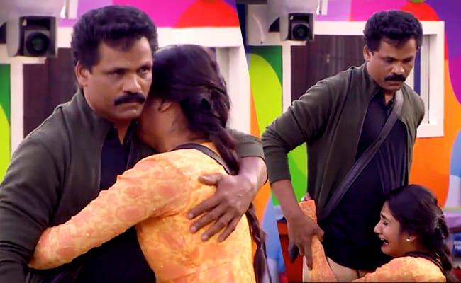 'உன்னை இப்படியா வளர்த்தேன்': Bigg Boss வீட்டில் கோவத்துடன் நுழைந்த லாஸ்லியாவின் அப்பா!