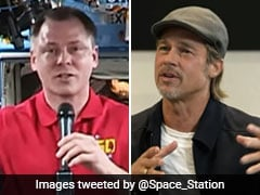 "Brad Pitt Phones Astronaut, Asks ""Did You Spot Indian Moon Lander""?"