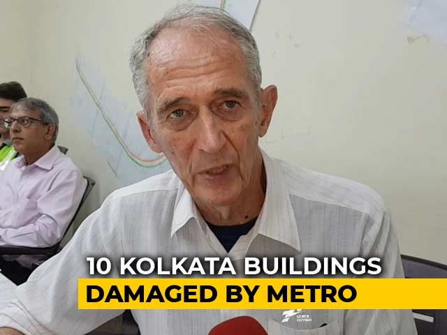 Video : Crumbling Houses Razed After Kolkata Metro Incident, 600 Homeless