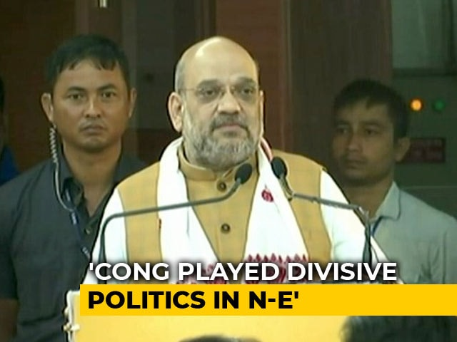 Video : In BJP's North-East Meet, Allies Ask Tough Questions On Contentious Issues