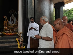 """India Is Fortunate He Blessed Our Land"": PM Modi's Tribute To Sree Narayana Guru"