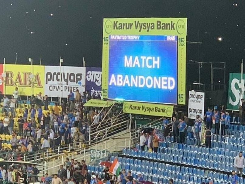 India vs South Africa 1st T20I: बारिश से धुल गया पहला टी20 मुकाबला, नहीं फेंकी जा सकी एक भी गेंद