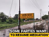 Video : Ayodhya Case: Top Court Sets Itself October 18 Deadline, Allows Mediation