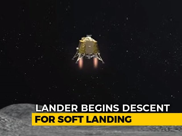 Video : India's Chandrayaan 2 Moments Away From History