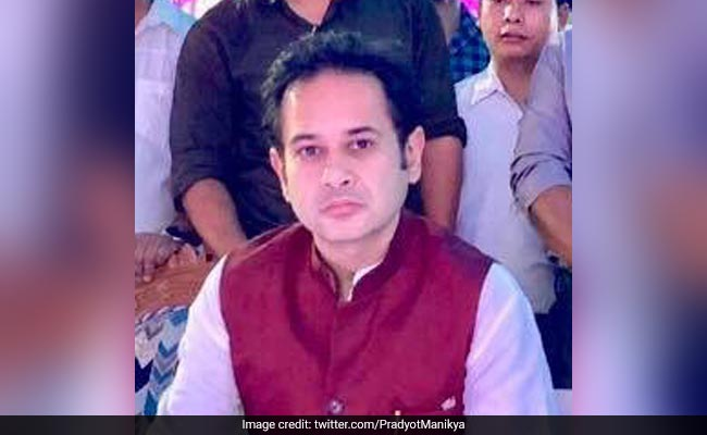 Tripura Congress Chief Resigns From All Party Posts