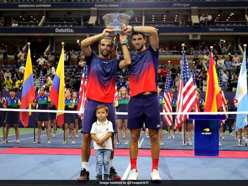 Juan Sebastian Cabal and Robert Farah win the US Open mens double title