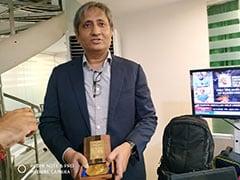 रैमॉन मैगसेसे अवार्ड मिलने के बाद रवीश कुमार ने यूं किया दर्शकों का शुक्रिया अदा