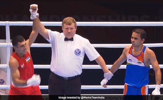 Amit Panghal First Indian Male Boxer To Get World Championships Silver