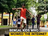 Video : The 'Rags-To-Viral' Story Of 2 Young Kolkata Gymnasts