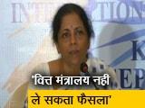 Video : टैक्स कटौती की मांग पर वित्त मंत्री बोलीं, GST काउंसिल लेगी फैसला