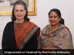 Pranab Mukherjee's Daughter Appointed Congress National Spokesperson
