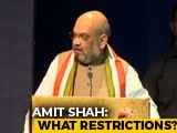 """Video : """"What Restrictions?"""" Amit Shah Targets Opposition Over Jammu and Kashmir"""