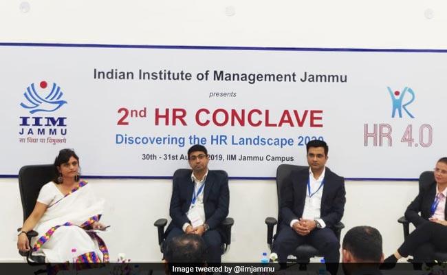 HR Heads Of Top 50 Companies Attend Conclave In IIM Jammu