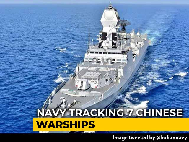 Video : Navy's Spy Plane Tracking 7 Chinese Warships In Indian Ocean Region