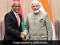 PM Modi Holds Bilateral Meeting with Namibia And Maldivian Presidents