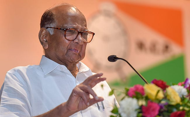 """Government Afraid Onions Might Be Hurled At PM's Convoy"": Sharad Pawar"