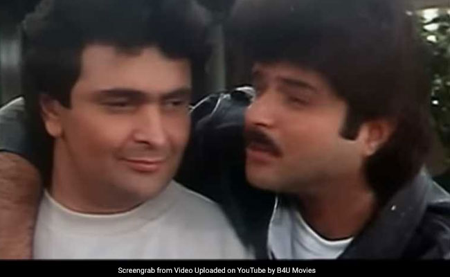 To 'James,' With Love: Rishi Kapoor Got This Birthday Wish From Gurudev Co-Star Anil Kapoor