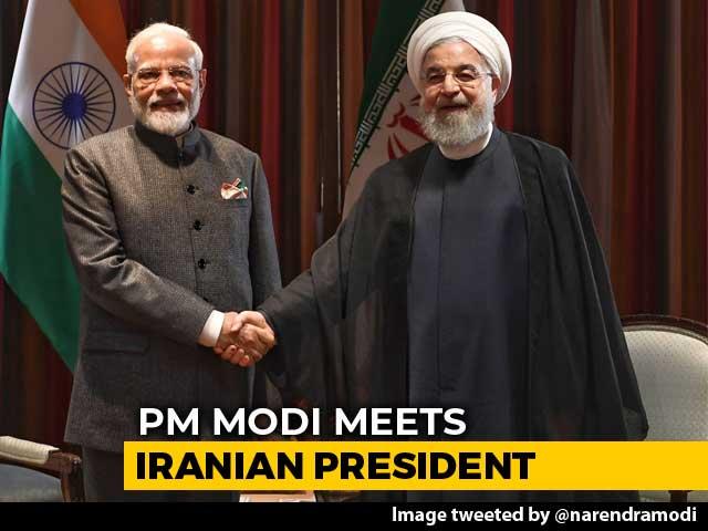 Video : PM Modi, Hassan Rouhani Meet, Discuss Regional, Global Developments