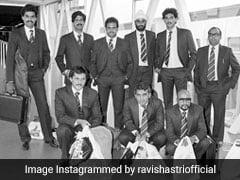 Ravi Shastri ने पोस्ट किया दशकों पुराना फोटो, खुद को इसलिए बताया