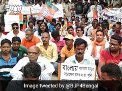 Bengal's Bolpur On The Boil As BJP Claims Theft Of Party Worker's Body