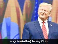 """Priceless Expressions"": Minister's Take On PM Modi-Trump Photo"