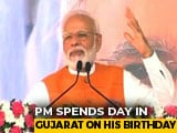 Video : PM Modi Addresses Public Meeting In Gujarat On His Birthday
