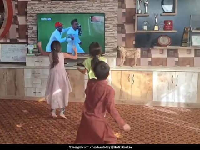 Video Of Kids Dancing After Afghanistans Test Win In Bangladesh Is Viral
