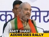 "Video : ""Congress Sees Politics, We See Patriotism"": Amit Shah On Kashmir Move"