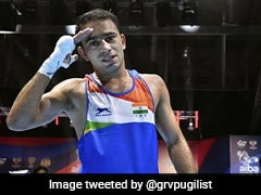 Amit Panghal Scripts History By Reaching World Boxing Championships Final, Bronze For Manish Kaushik
