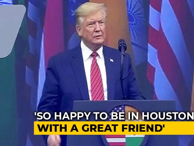 Video : PM Modi One Of America's Most Loyal Friends, Says Donald Trump