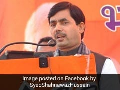 """Not Running <i>Dharamshala</i>"": BJP's Shahnawaz Hussain On Citizens' List"