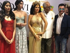 Sridevi Forever: Janhvi And Khushi Unveil 'Hawa Hawai' Wax Statue At Madame Tussauds Singapore