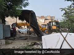 Illegal Encroachments On Land Worth Rs 317 Crore Cleared: Noida Authority
