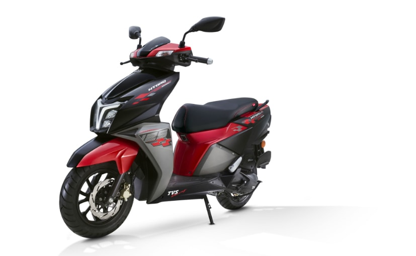 The TVS NTorq 125 Race Edition was launched in India in September 2019
