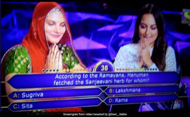 KBC में रामायण को लेकर पूछे गए सवाल पर Sonakshi Sinha ने दिया यह जवाब, सोशल मीडिया पर जमकर हो रही हैं ट्रोल