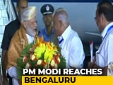 Video : PM Modi Reaches Bengaluru To Watch Chandrayaan 2's Moon Landing At ISRO