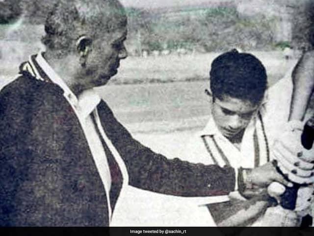 Sachin Tendulkar tweets on Teachers Day, Achrekar Sir taught me to play straight