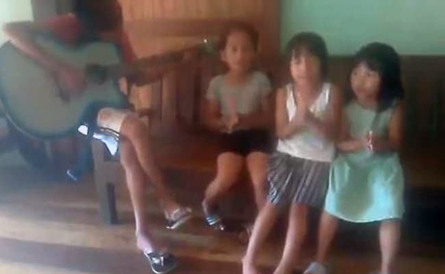 On Camera, Nagaland Kids Quartet Perform Birthday Song For PM Modi