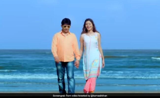 अमिताभ बच्चन ने 'तुम मेरी हो' सॉन्ग को लेकर किया Tweet, तो KRK ने यूं दिया रिएक्शन
